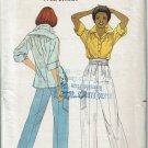 Butterick 5987 Willi Smith misses loose fitting top wrap around pants size 14