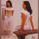 Simplicity 2890 bodice corset chemise pattern by The Museum Curator Kay Gnagey 8 10 12 14