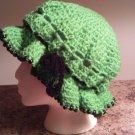 Crochet Beaded Medium Hat