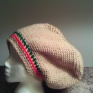 Rasta Crochet Large Hat