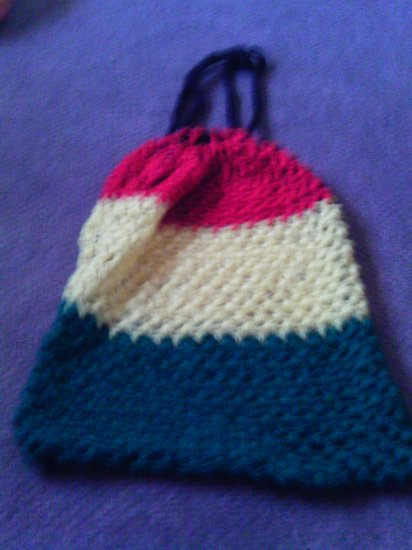 Crochet X-Large Red,Yellow, BlackGreen &  Beach or Tote bag