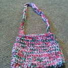 Crochet Small Christmas color handbag