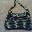 Crochet small handbag
