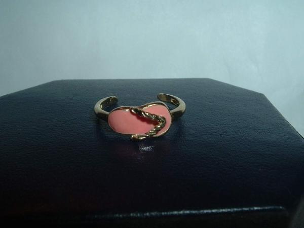 Solid 10k Gold Sandal Design Toe Ring