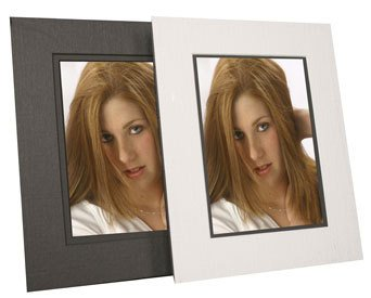 Crown Photo Frame-Less Frame in Linen White, size 5x7