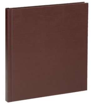 Superior Mount Album in Chocolate, size 2x3, 10 pages