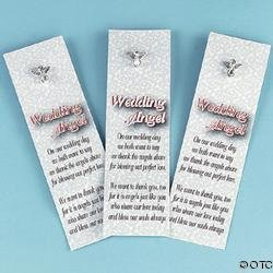 """""""WEDDING ANGEL"""" PIN AND BOOKMARK SETS IN-24/1621"""