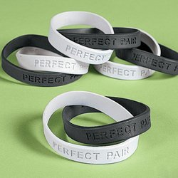 """PERFECT PAIR"" SAYINGS DOUBLE BRACELETS IN-24/1787"