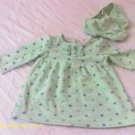 2 pcs Girl dress with bottoms by Circo LS 9 mos.