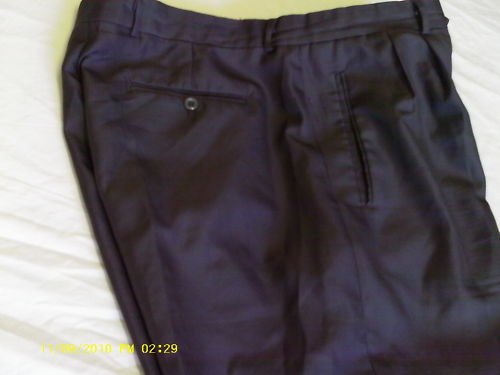 Men Dark Gray-look slacks Sz 38 X 34 Daniel Ellissa