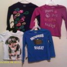 4 Girl Sz x-small (like 6/7) Old Navy Shirt LS NWOT
