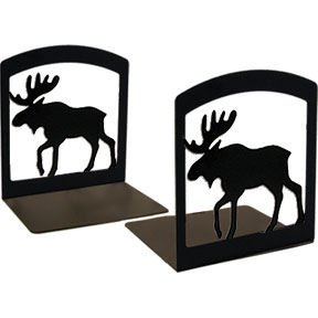 Moose Book Ends