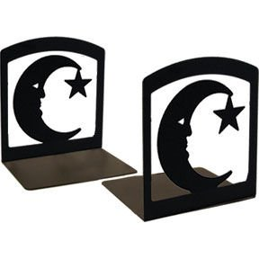 Moon & Star Book Ends