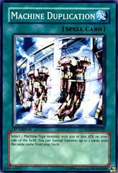 Yu-Gi-Oh Rare 1st Edition Machine Duplication