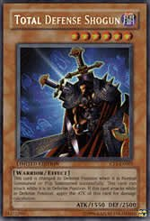 Yu-Gi-Oh Super Rare Total Defense Shogun