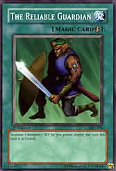 Yu-Gi-Oh Common The Reliable Guardian