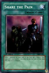 Yu-Gi-Oh Common Share the Pain