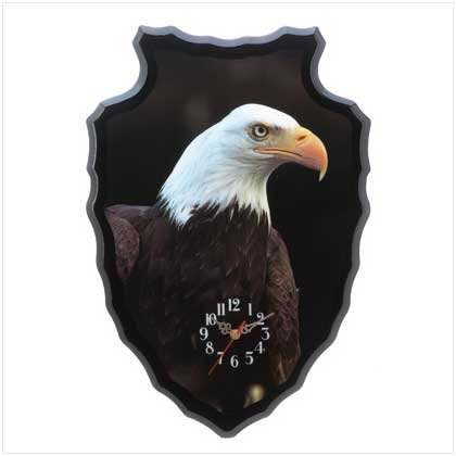 Eagle Spirit Wall CLock