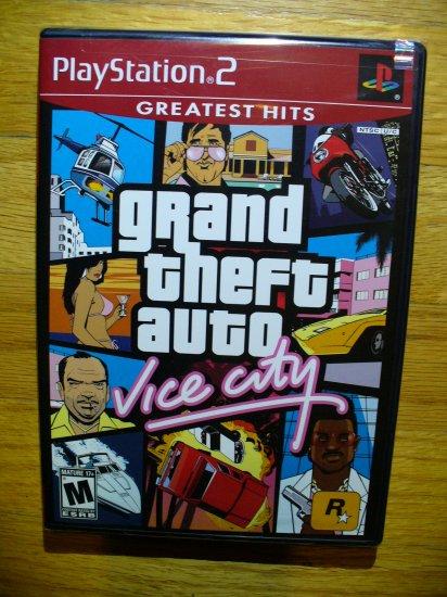 Grand Theft Auto Vice City PS2 New Sealed