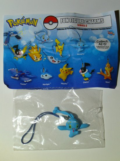 Pokemon Fun Figure Charms Series 3 by Tomy Yujin - Manaphy