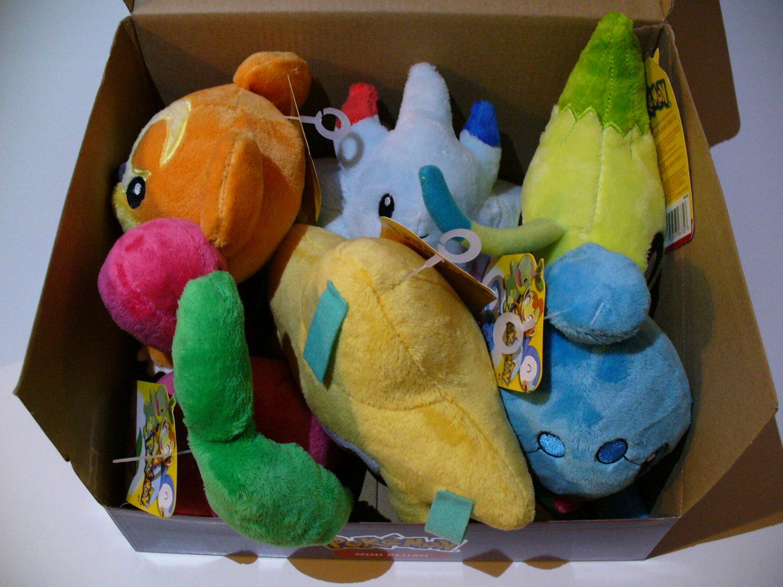 Pokemon Jakks Plush NWT - Series 13 Complete set Celebi ...