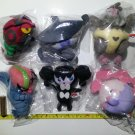 My Pokemon Collection Plush Set #20 Venipede Lampent Vullaby Accelgor Gothorita Musharna