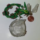 Pokemon zukan 1/40 scale figure Rayquaza cloud base