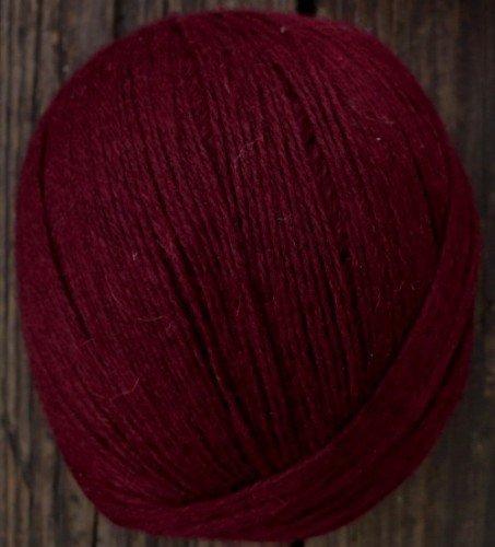 Cashmere wool blend yarn, Fingering weight, wine