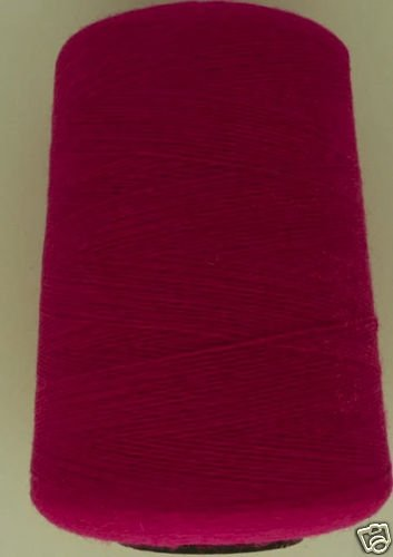 cashmere wool  blend yarn 24 S/2 lace weight, magenta