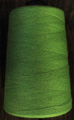 cashmere wool blend yarn 24 S/2 lace wt, lemongrass