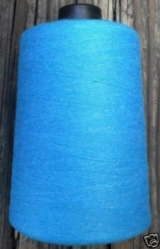 cashmere wool  blend yarn 24 S/2 lace weight, azure