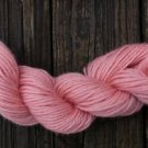 100%  wool yarn, worsted weight, peach,  1 skein