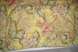 Croscill Tropical Bali Padded Standard Pillow Shams New