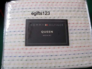 Tommy Hilfiger Amelia Queen Bedskirt White New