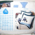 That's mine Keep Moving Puppy Train Quilted Standard Pillow Sham New