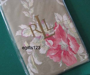 Ralph Lauren Boathouse Floral KING Pillowcases New