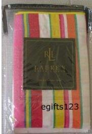 Ralph Lauren Beachside Preppy Stripe Standard Pillow SHAM New