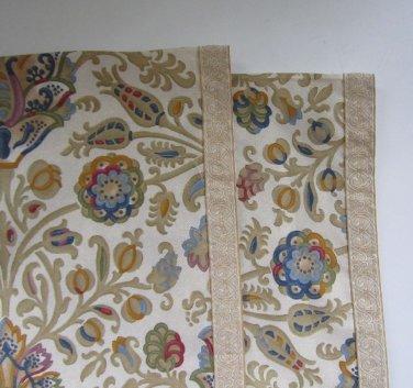 Ralph Lauren Marrakesh Rug Custom Made King Pillowcases New