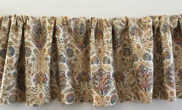 Custom Made Ralph Lauren Marrakesh Rug Curtain Valance new