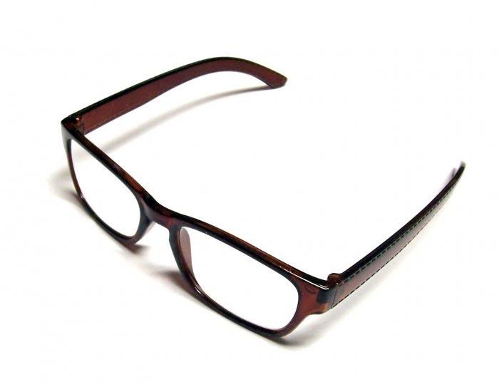.99 Reading Glasses +1.00 Brown Frames