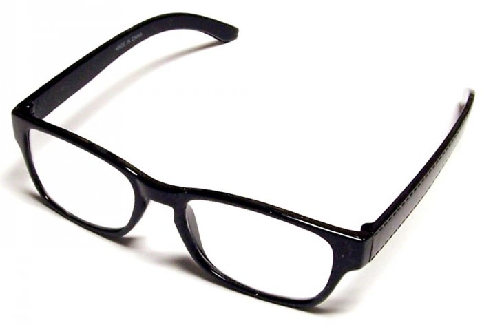 .99 Reading Glasses +3.00 Black Frames