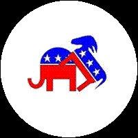 Donkey Fs GOP Elephant