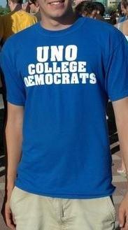 UNO Democrats Classic Blue T