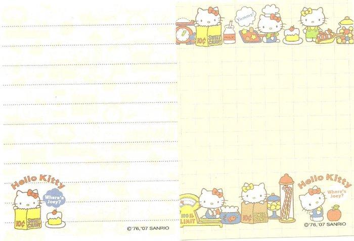 Sanrio HELLO KITTY mini memo lot # G
