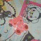 kawaii cabochom handmade necklace love bear with free memos #B21