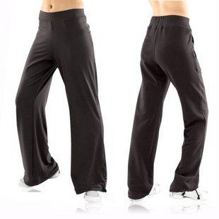 High Quality Women's Black Yoga Gym Pants: Jade