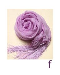 Soft Colored Shawl Perfect for Mix and Match: Blossom