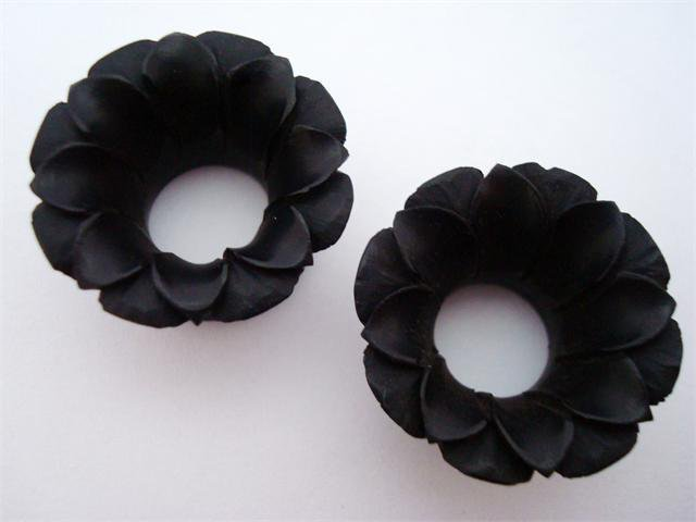 2g Lotus Flower Horn Plugs