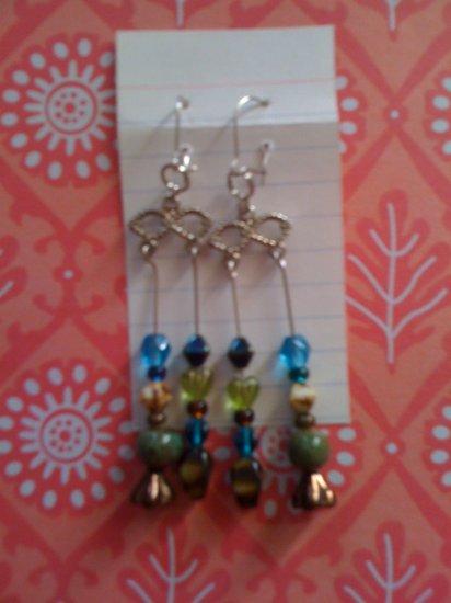 Mixed Beads Dangle