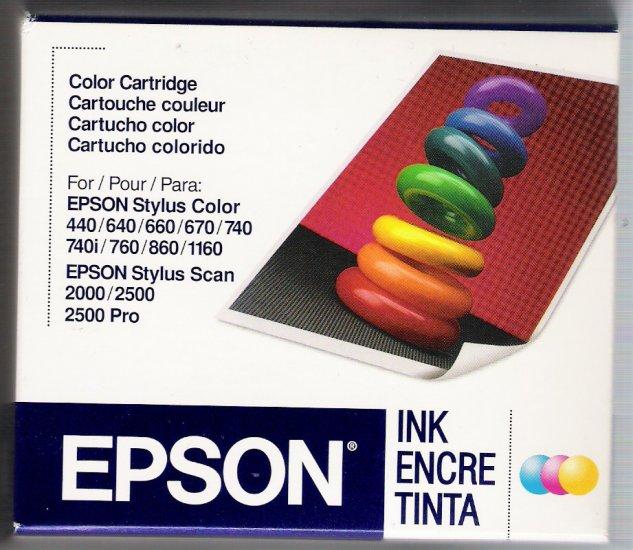 GENUINE EPSON S020191 COLOR CARTRIDGE NIB !!!